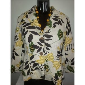 Banana Republic womans size 10 fitted jacket